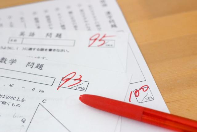 前期中間試験(1学期期末試験)結果